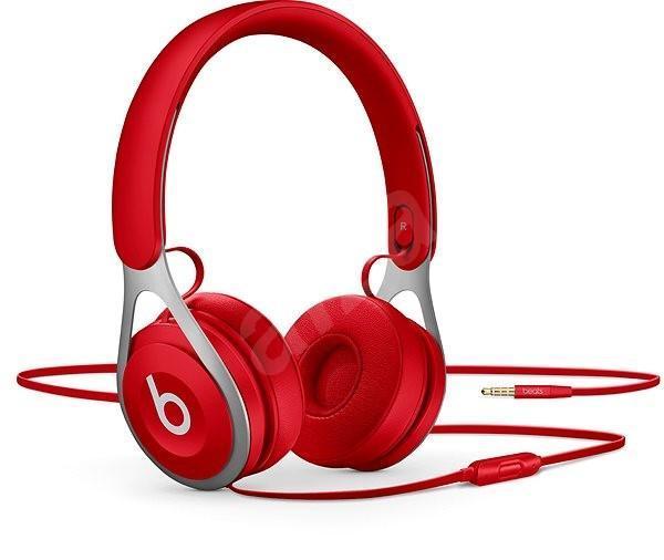 Nefunkční a pouze pro podnikatele: Sluchátka Beats EP - červená - TV, audio, video