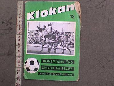 DOKUMENT SPORT -   37  BOHEMIANS FOTBAL