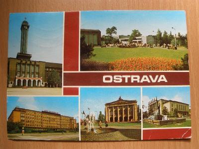Pohlednice - OSTRAVA
