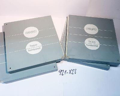 4x 18cm cívky Grundig GD18 pro páskové magnetofony (921-X28)