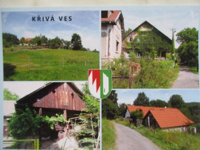 Křivá Ves Velké Popovice okr. Praha - východ