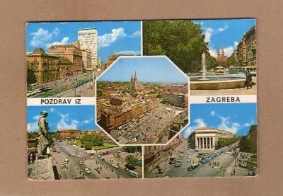 ZAGREB...JUGOSLÁVIE...STAV DLE FOTA (10)