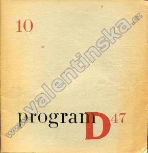 Program D47; 10 (červen 1947)