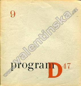 Program D47; 9 (květen 1947)