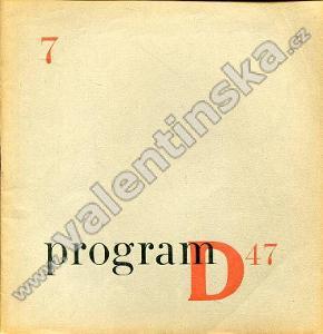 Program D47; 7 (březen 1947)