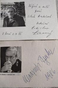 Sada autogramů