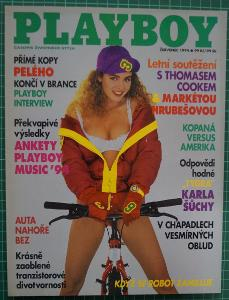 Časopis - PLAYBOY - červenec  1994 - Top stav