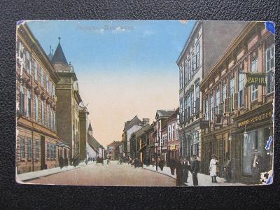 c6566 BRATISLAVA Pozsony ulice 1916