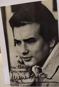 Autogram Pierre Brice