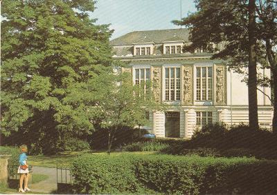 Opava - Dům osvěty - 750 let založení města, rok 1974