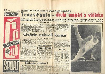 Československý šport - 10.6.1968