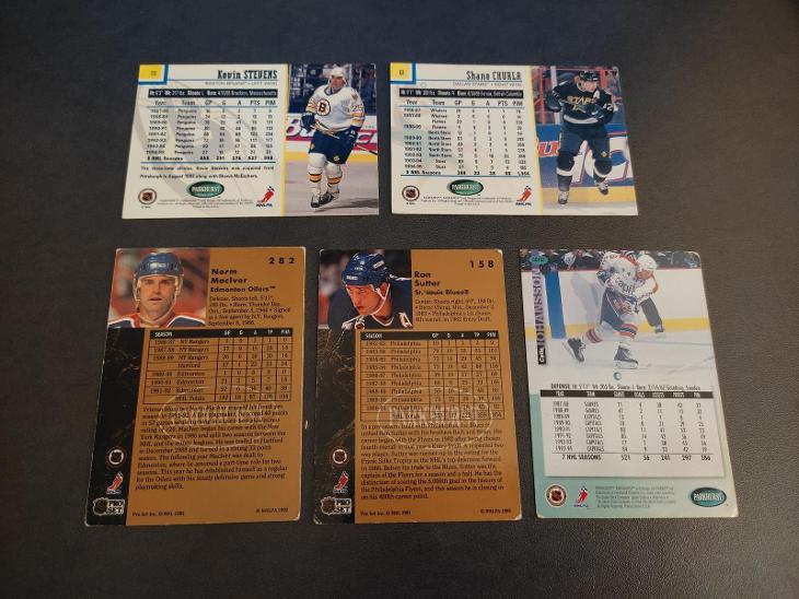 Hokejove karty Pro - Sportovní sbírky