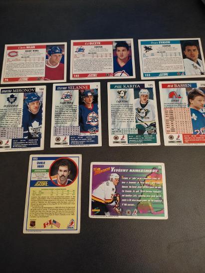 Karty Score  - Sportovní sbírky