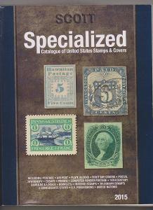katalog Scott Specialized Catalogue of USA 2015 OSN známky kolky