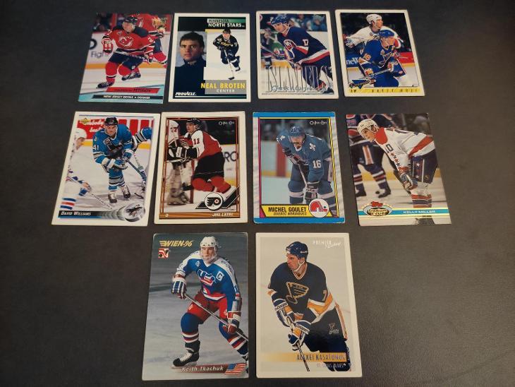Hokejove karty nab - Sportovní sbírky