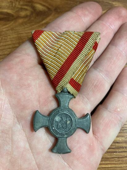 RU - Železný Záslužný kříž 1916, FJI  - Faleristika