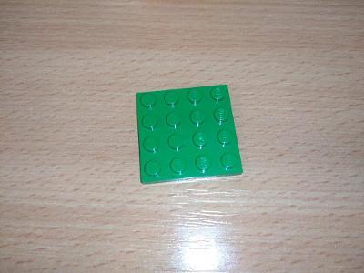 Lego díl 3031 - zelená destička
