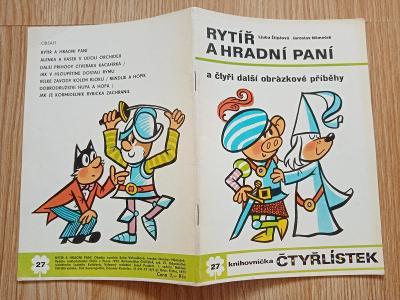 Čtyřlístek 27 - Rytíř a hradní paní - krásný stav, neluštěný!!
