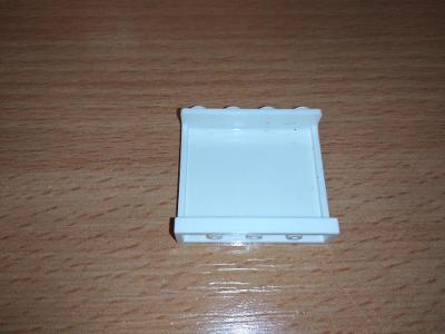 Lego díl 60581 - panel bílý
