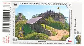 Turistická vizitka No. 157 - Kumburk