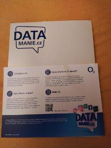Datamanie 100gb/měsíc  NOVÁ NEAKTIVOVANÁ OD KORUNY !
