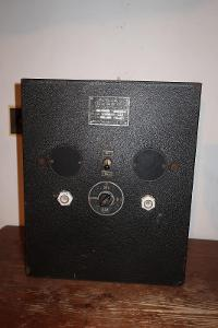 Německý válečný asi usměrnovač zn. Kupferoxydul Trockengleichrichter
