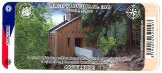 Turistická nálepka No. 1006 - Aichelburg