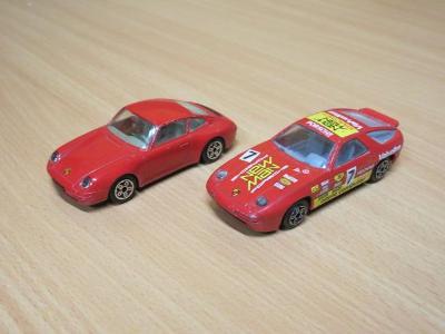 BBURAGO - PORSCHE 911 + PORSCHE 928 - 1:43