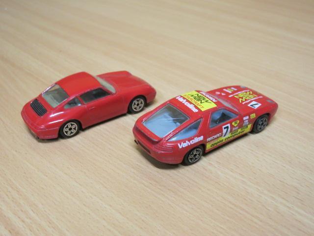 BBURAGO - PORSCHE 911 + PORSCHE 928 - 1:43  - Modelářství