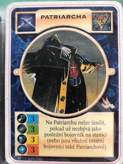 Doomtrooper - Patriarcha - Karetní hry