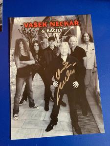 Václav Neckář autogram