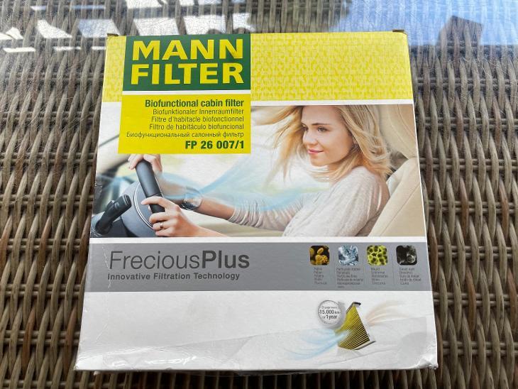 Mann Filter Kabinový filtr FP 26 007/1 - Náhradní díly a příslušenství pro osobní vozidla