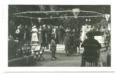 Lázně Běloves - taneční parket - živá!, 30.léta, Náchod