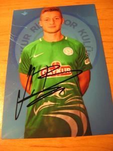 Jakub Brabec - Çaykur Rizespor - orig. autogram