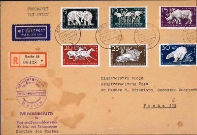 14B806 Deutschland- Ministerstvo pošt Berlín/ minister. spojů Praha