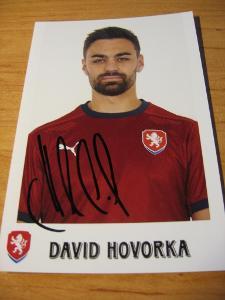 David Hovorka - ČR - orig. autogram