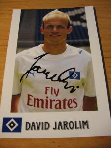 David Jarolím - HSV - orig. autogram