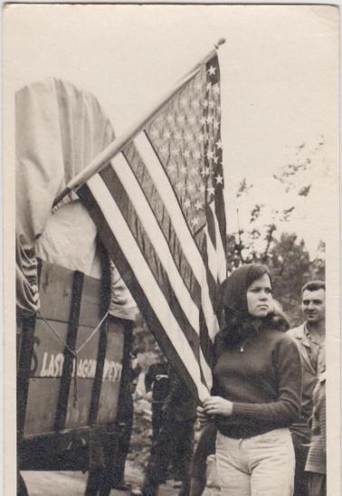 10D3122 Soukromé foto - emigrace, oslava USA
