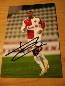 Mickaël Tavares - Slavia Praha - orig. autogram
