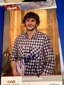 Václav Jílek autogram