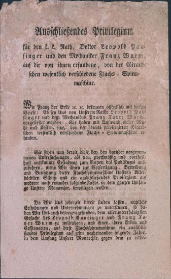 1A5 Patentový list 1817