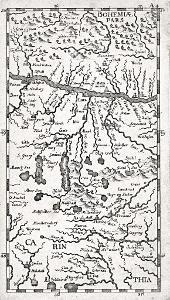 Bohemia Carinthia, , mědiryt, (1710)