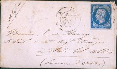 17B737 1860, Frankreich/ Francie 13, na důstojníka - vojenský regiment