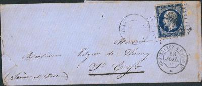 17B760 1856, Frankreich/ Francie 13, na důstojníka - vojenský regiment