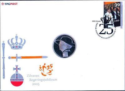 14B970 Dopis královna Beatrix - 25 let výročí vlády