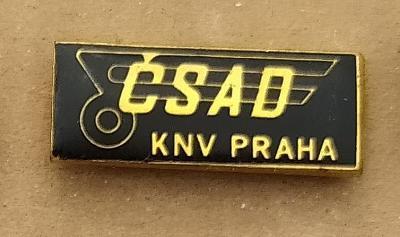 P94 Odznak ČSAD KNV Praha  1ks