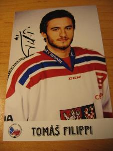 Tomáš Filippi - ČR - orig. autogram