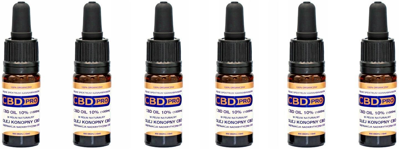 CBD olej Pro 10% 1000mg - Alternativní medicína