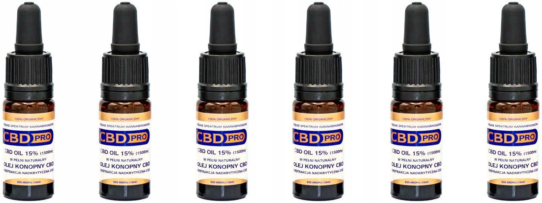 CBD Pro olej  15% 1500mg. - Alternativní medicína