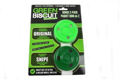 Green Biscuit Bonus 2-Pack Puk